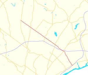 Pennsylvania Route 132 - Image: Pennsylvania Route 132 map