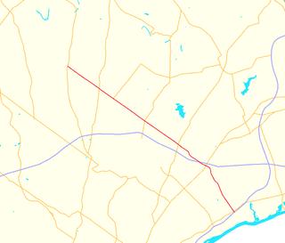 Pennsylvania Route 132 highway in Pennsylvania