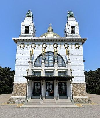 So kommt man zu dem Kirche Am Steinhof mit den Öffentlichen - Mehr zum Ort Hier