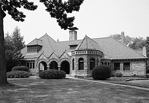 Southport, Connecticut - Pequot Library in Southport, 1966