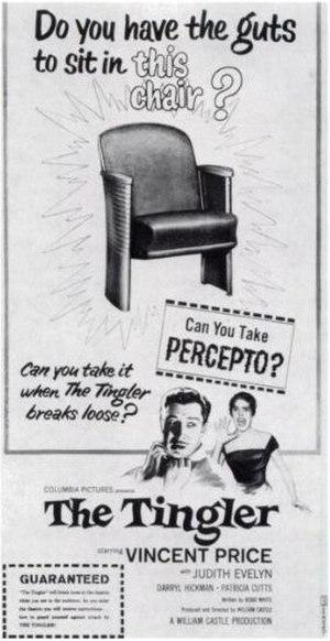 "William Castle - The Tingler, 1959: ""Can You Take Percepto?"""