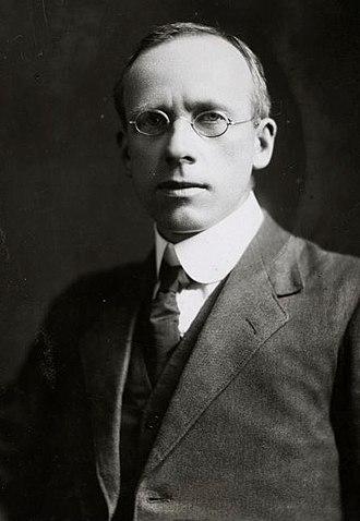 Peter Fraser - Fraser in 1918