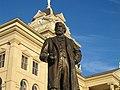 Peter H. Bell statue in Belton, TX IMG 2404.JPG
