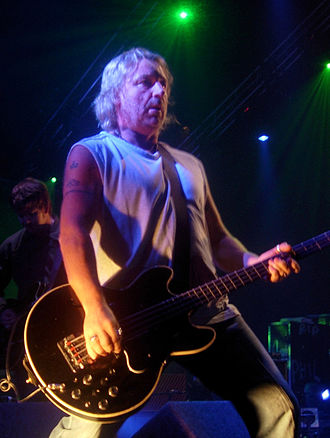 Peter Hook - Hook playing with New Order in 2005