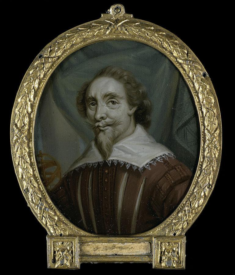 Portrait of Petrus Baard, Physician and Poet from Leeuwarden