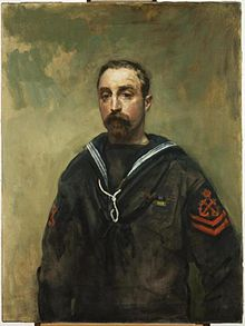 Petty Officer E Pitcher VC, 1918.jpg