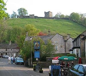 Castleton, Derbyshire - Image: Peveril castle