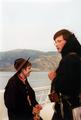 Pfadfinderstamm Ägypten, Nordlandfahrt des Stammes Ägypten 1994 - auf dem Postschiff von Bergen nach Vangsnes.png