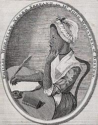 Scipio Moorhead: Portrait of Phillis Wheatley