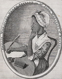 Phillis Wheatley American poet