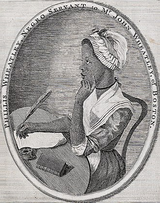 American poetry - Phillis Wheatley, a slave, wrote poetry during the Colonial Period.