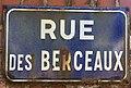 Photo de plaque de rue prise dans la commune d'Étaples - rue des Berceaux.jpg