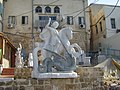 PikiWiki Israel 28220 St. George sculpture in Acre.JPG