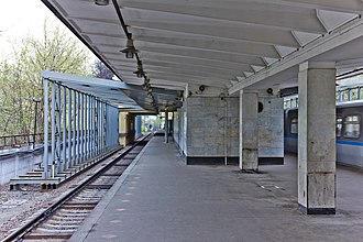 Pionerskaya (Moscow Metro) - Image: Pion 07