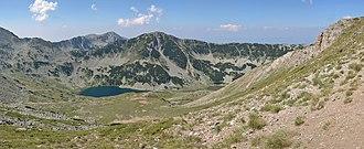 Vlahini Lakes - Big Vlahino lake