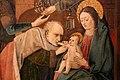 Pittore napoletano forse da jan van eyck, adorazione dei magi, 1455-60 (gall. sabauda) 04.JPG