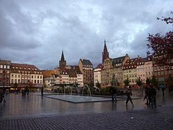 Place Kléber on a rainy day.jpg
