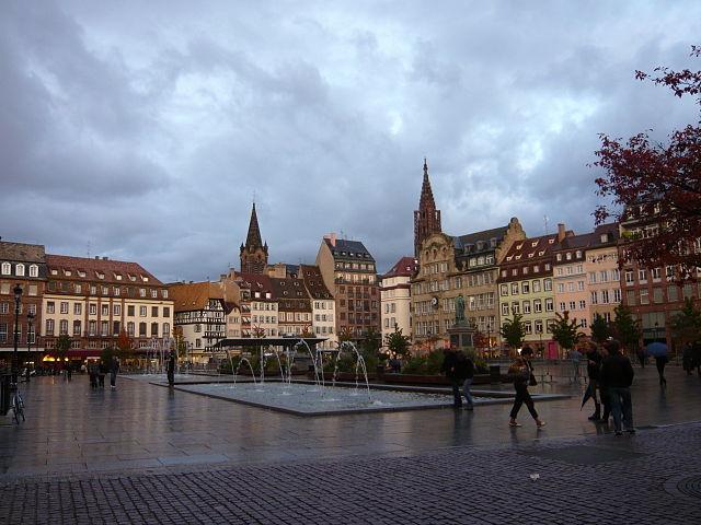 La place Kléber à Strasbourg