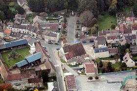 Centre ville de Chaumontel