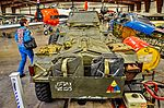 Planes of Fame Air Museum Ferret armoured scout car 4 x 4 Mark 1-2 1952 (26274310010).jpg