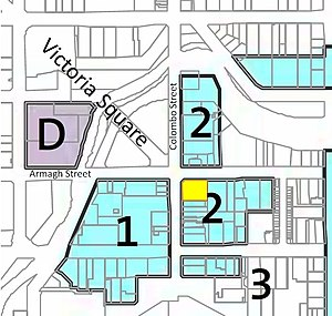 Forsyth Barr Building - Image: Planning maps