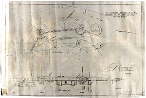 Plans for 6 inch Mk VII guns at Fort Scratchley Flickr 5907791950.jpg