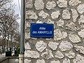 Plaque Allée Amaryllis - Maisons-Alfort (FR94) - 2021-03-22 - 2.jpg