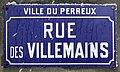 Plaque Rue Villemains - Le Perreux-sur-Marne (FR94) - 2021-01-16 - 2.jpg