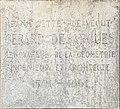 Plaque dédiée à Gérard Desargues qui a vécu dans l'immeuble, rue des Trois-Maries à Lyon.jpg