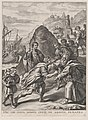 Plate 17- Aeneas welcomed by King Euandrus in Italy; from Guillielmus Becanus's 'Serenissimi Principis Ferdinandi, Hispaniarum Infantis...' MET DP874806.jpg