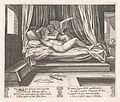 Plate 9- Cupid and Psyche on a bed, from the Story of Cupid and Psyche as told by Apuleius MET DP862815.jpg