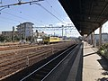Platform of Nishi-Karatsu Station.jpg