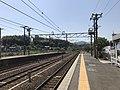 Platform of Nishi-Takaya Station 6.jpg