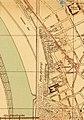 Platz der projektierten Ausstellung der Industrie- und Gewerbeausstellung Düsseldorf 1902 an der Golzheimer Insel, Kartenausschnitt Adressbuch Düsseldorf 1900.jpg