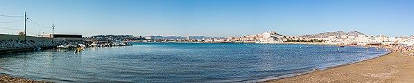 Playa de la Punta Roja, Marsella, Francia, 2016-06-22, DD 05-09 PAN.jpg