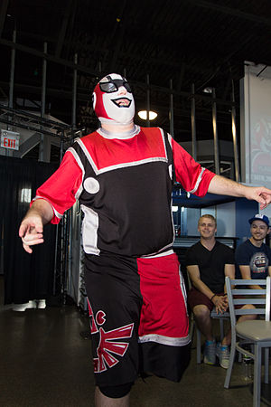 Player Uno - Player Uno making his ring entrance in July 2013