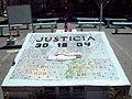 Plaza de la memoria, República Cromañón - Monumento.JPG