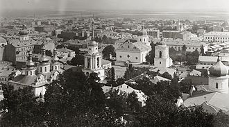 Podil - View of the Podil in the late 19th century.