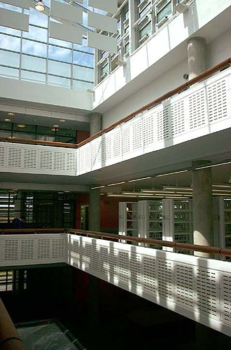 University of Bedfordshire - Polhill Library on the Bedford campus