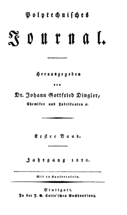 Polytechnisches Journal 1820 Titel.png