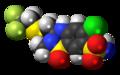 Polythiazide molecule spacefill.png
