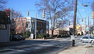Poncey–Highland Neighborhoods of Atlanta in Fulton County, Georgia, United States