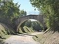 """Pont sur l'ancienne voie de chemin de fer """"la Galoche"""" à Rosières (Haute-Loire).jpg"""