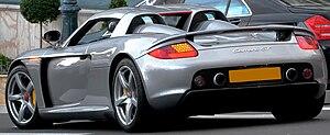 Porsche Carrera GT - Porsche Carrera GT (Europe)