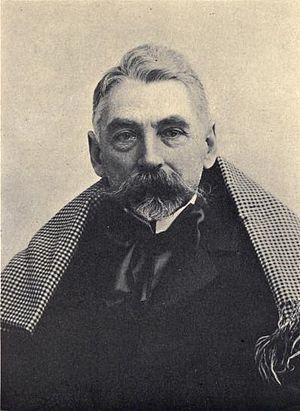 Stéphane Mallarmé - Portrait of Mallarmé, by Nadar, 1896