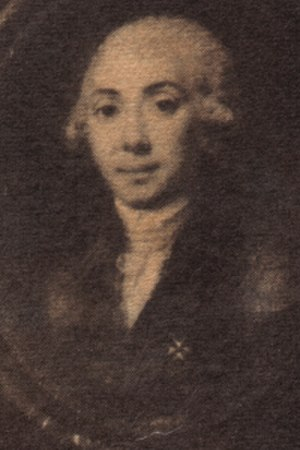 Oscar François de Jarjayes - A portrait of the real François Augustin Reynier de Jarjayes, who Ikeda portrayed as Oscar's father.