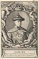 Portret Kangxi, keizer van China Cam-Hy, Keyser van China en van het Oosters Tartaryen (titel op object), RP-P-1896-A-19368-1302.jpg