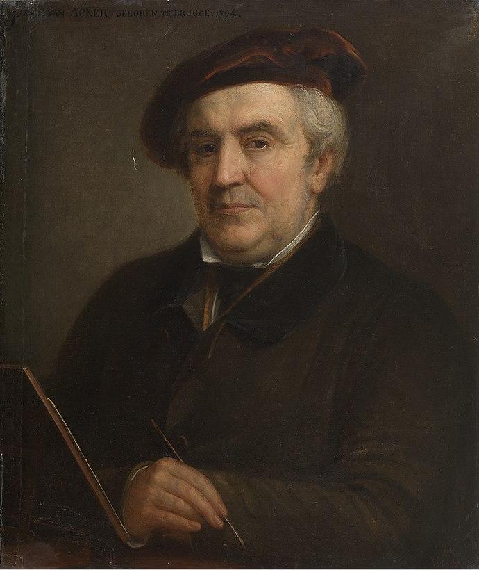 Portret van Johannes Van Acker