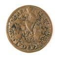 Portugisiskt mynt, 1734 - Skoklosters slott - 109469.tif