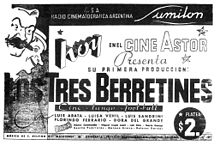 Poster for Los Tres Berretines.jpg